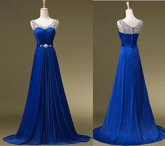 Beautiful Prom Dress, prom gown royal blue prom dresses royal blue evening gowns beaded party dresses evening gowns formal dress for teen Meet Dresses Royal Blue Evening Gown, Royal Blue Prom Dresses, Prom Dresses 2017, A Line Prom Dresses, Evening Dresses, Party Dresses, Graduation Dresses, Prom Gowns, Bridesmaid Dresses