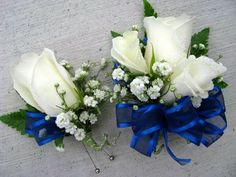 Silk Prom Corsages and Boutonnieres | Floralshowers | Boutonnieres & Corsages | FloralShowers