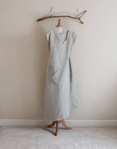 plus size calla lily  asymmetrical linen by annyschooecoclothing, $143.00