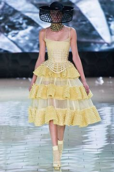 Alexander McQueen's Sarah Burton Produces Another Winner.