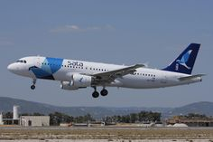 An Airbus A320 of SATA International lands at Faro Airport https://commons.wikimedia.org/wiki/File:Airbus_A320-214,_SATA_International_JP6918179.jpg … Pedro Aragão CC-BY-SA #Avgeek