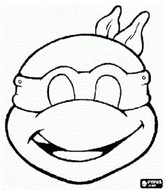 tmnt coloring pages on pinterest - photo#28