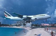 St Marteen Beach (airport literally across street, obviously!)...