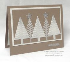 Getting Ready For The July Christmas Card Club - Tip Top Taupe