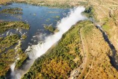 A view like non other #victoriafalls