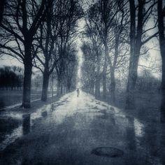 Dia de lluvia Parque Vigeland #Oslo