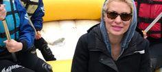 Η Ελένη Μενεγάκη κάνει rafting σε ποτάμι στην Ηπειρο! [εικόνες]