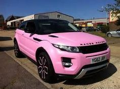 Pink Range Rover - - Yahoo Image Search Results