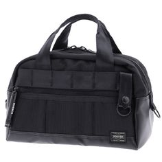 Porter Heat Tool Bag. Ref : 703-06981. Size: W290/H200/D145. Color : Black. Main Fabric: Ballistic Nylon Canvas ( Nylon 100 %). Bottom of the bag : Tarpouline Lining Fabric: Nylon Canvas ( Nylon 100% ). Additional: Each bag comes with a porter orifinal Maglight as a zip puller.