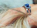 laj-shop | Bijoux Bague argent, silver ring, vente en ligne, bijoux femme, bijoux argent, ring, bague, blue, bleu, pyramid ring, bague pyramide, silver, argent, bijoux femme, créateur, designer, jewelry.