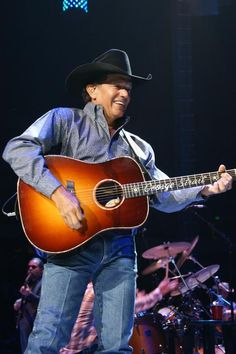 George Strait. The only true cowboy left in country music <3