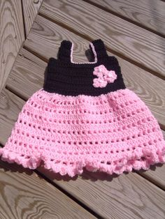 My awesome Etsy listing at https://www.etsy.com/listing/189469072/frilly-infant-dress-crochet-pattern