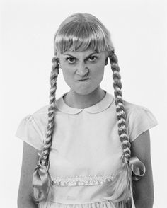 "Amy Poehler as ""The Bad Seed"""