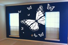 GIANT BUTTERFLY ROOM decor by LooseGearGraphics on Etsy, $49.99