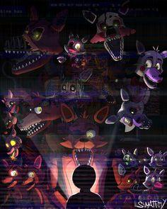 [Speedpaint] FNaF All fox by Swatthy