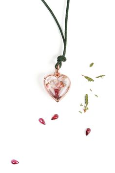 #Heart-shaped #Locket #Openable #Pendant with #Pink #Gold #Letters with silver ice #diamonds and #birthstones #garnet _ #maschiogioielli milano #gioielliartigianali #madeinitaly #customizedgifts #diamondletters #designjewelry