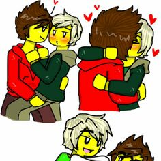 Image result for ninjago lloyd x kai fanfiction lemon