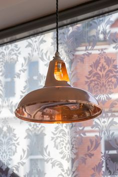 Coolicon Pendant Light In Polished Copper Pizza Express Westbourne