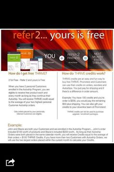 Want to Thrive for free?? www.marciatriplett.le-vel
