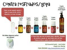 Resfriados / gripa aceites esenciales
