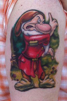 Grumpy Tattoo