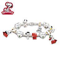 Womens Bracelet: The Ultimate PEANUTS Charm Bracelet
