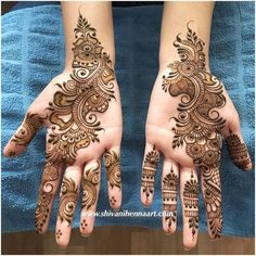 21 Mind Blowing Indian Mehndi Designs To Try In 2019 – Lifestyle New Henna Designs, Simple Arabic Mehndi Designs, Indian Mehndi Designs, Mehndi Designs Book, Modern Mehndi Designs, Mehndi Design Pictures, Mehndi Designs For Girls, Wedding Mehndi Designs, Beautiful Henna Designs
