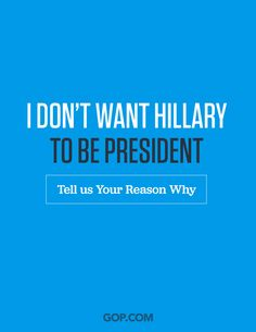 Don't trust Hillary? Take the survey & do tell:
