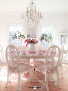 The Best Shabby Chic Furniture Interior Design Ideas Shabby Chic Dining, Shabby Chic Kitchen Curtains, Shabby Chic Furniture, Vintage Shabby Chic, Shabby Chic Style, Shabby Chic Decor, Interiores Shabby Chic, Muebles Shabby Chic, Shabby Chic Interiors