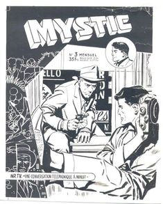 Mystery cover - European MYSTIC - W.B.