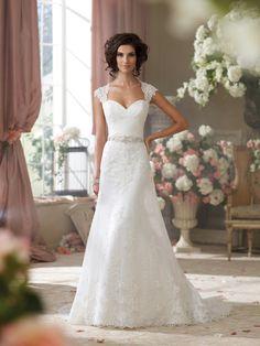 David Tutera wedding dress!