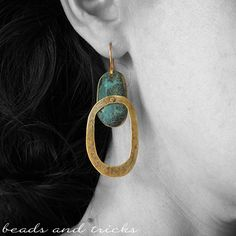 Ormolu and patina | Handmade by Beads and Tricks