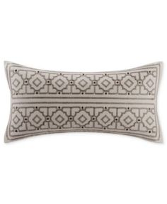"Echo Odyssey 10"" x 20"" Oblong Decorative Pillow"