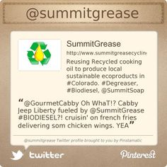 Summit Grease is on Twitter @summitgrease's Twitter profile courtesy of @Pinstamatic (http://pinstamatic.com)
