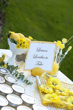 Lemon Theme Party