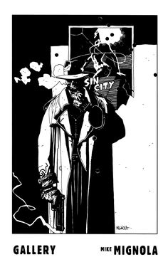Frank Miller's Sin City by Mike Mignola