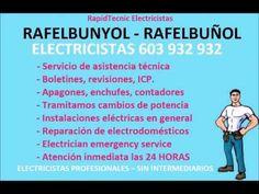 Electricistas RAFELBUNYOL 603 932 932 Baratos