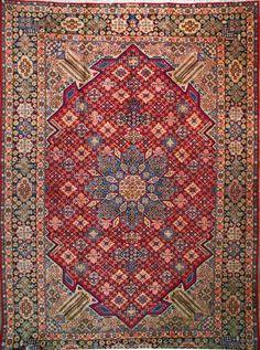 Handmade Esfahan Persian Rug x Oriental Carpet, Oriental Rugs, Persian Carpet, Persian Rug, Rug Ideas, Magic Carpet, Kilims, Blue Art, Tribal Art