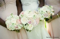 Wedding bouquets by The Flowersmiths