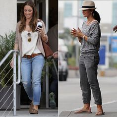 Minka Kelly love her style and it's comfy but super cute !!