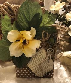 Durable luggage tag Flower Vintage Hand Drawn Floral Motif Ornamental Petals with Square Shapes Antique Design Unisex Multicolor W2.7 x L4.6