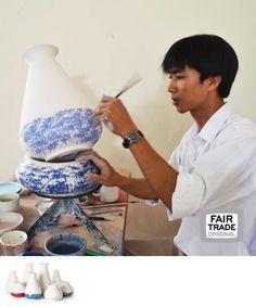 Piet Hein Eek vazen, keramiek, Vietnam, Fair Trade Original