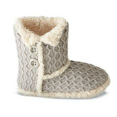 Tender Tootsies Fashion Bootie Slippers For Women Sears.ca