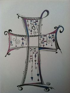 Art Journal - Zenspirations Dangles 3 #doodling #tangles This would be the perfect thing to sketch out those ideas before you turn them into real life doodles!