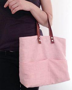 Le petit sac pratique version citadine - lien vers tuto Mes petites coutures