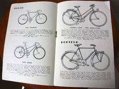 Cycles Hergé 1956 (3/4) by cycledefrance, via Flickr