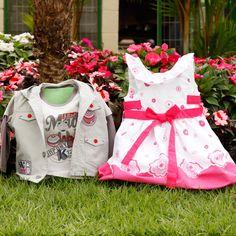 A Vigat produz roupas infantis para todas as ocasiões, sempre antenada com as ultimas tendências do universo infantil. Moda de crianças feita para crianças desde as cores até o design. www.Dinda.com.br
