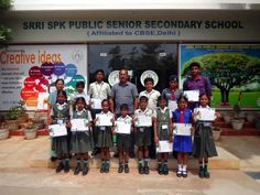 Our students of Srri SPK Public Senior Secondary School has been awarded for excellent performance in SOF (Science Olympiad foundation) exams for the academic year 2015-16. Congratulations to all the award winners for always evolving and inspiring others. SOF Coordinator - Mrs.Parvathi Devi and TEAM Courtesy - Media Club