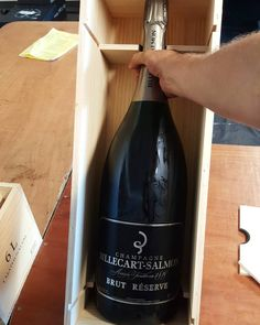 Let's drink. 6L billecart-salmon. Methuselah sounds a bit like an Asian ice junkie. Meth use lah!  #champagnelifestyle #pop #champagne #billecartsalmon #perthlife #perthfood #simplicity #bubbles #drinks #perthdrinks by funklad