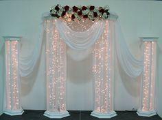 Wedding Columns One Pair Medium Columns   eBay